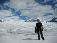 Ben on Perito Moreno Glacier