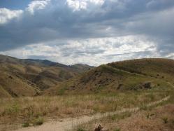 Boise foothills