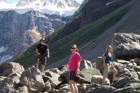 Bouldering at Consolation Lake