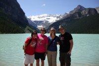 The group at Lake Louise