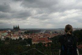 Alonna enjoying Prague
