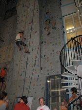 Ben climbing
