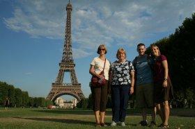 Candy, Robin, Ben, Alonna - Paris
