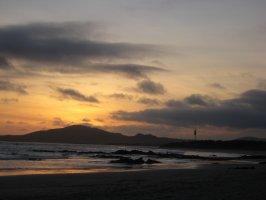 Sunset from Puerto Villlamil