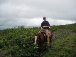 Ben riding a horse