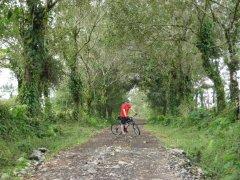 Ben Biking near Arenal Volcano