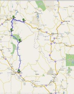 Road trip - map 2