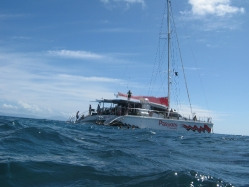 Our boat: Passions of Paradise