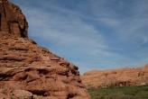 Dinosaur Tracks! (flat rock slab in the middle)