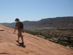 Ben - Hiking to Delicate Arch
