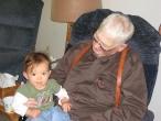 Grandpa Stromer and Annaliese